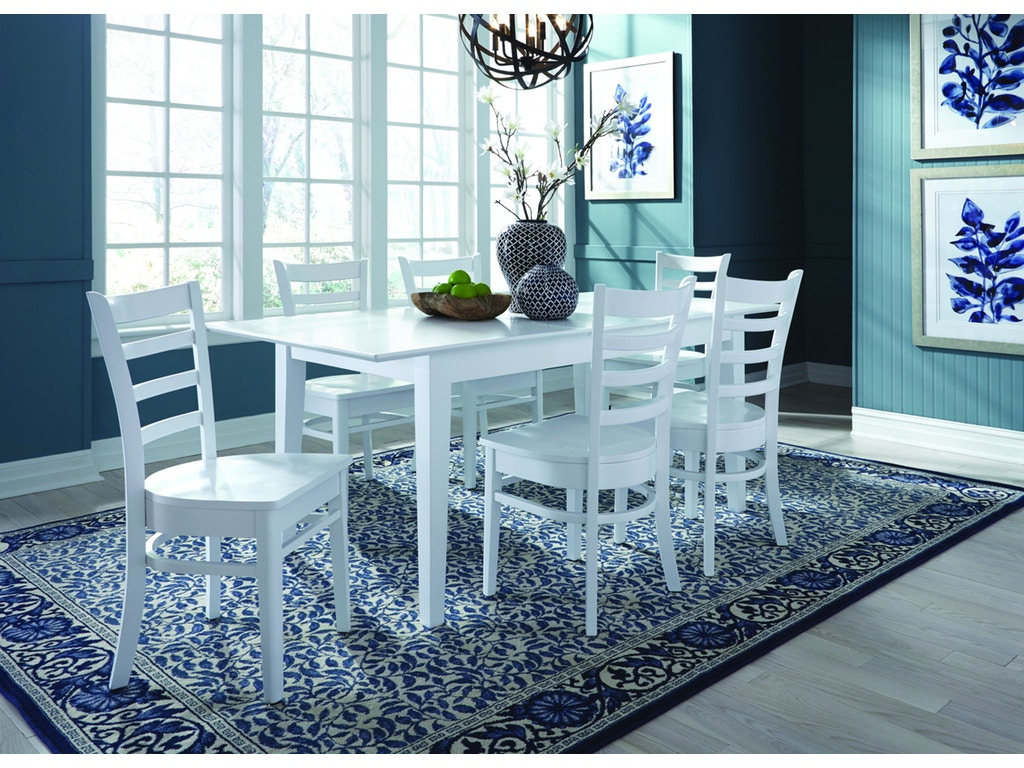 Decorating With White Furniture Dining Furniture Showcase