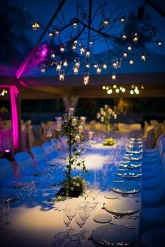 Magic wedding dinner