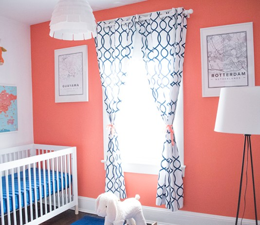 Travel Themed Baby Room