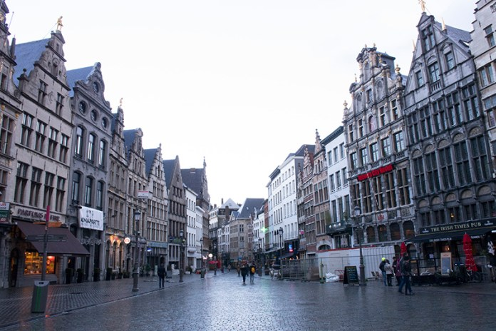 Two Days in Antwerp Antwerp Grand Place