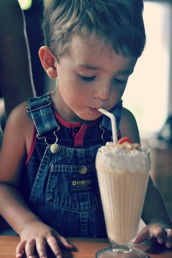 Pumpkin Milkshake Dining With Alice