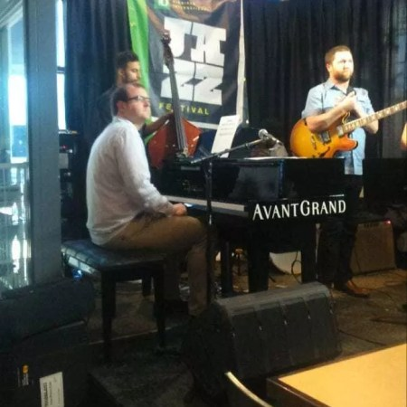 Jazz Lab show at the Free Press News Cafe