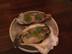 Virginia oysters