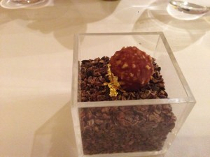 Ferrero Rocher: Foie gras and hazelnuts