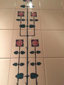 tile in ladies room