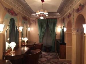 ladies room