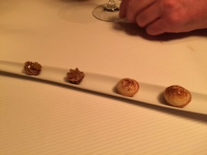 First set of desserts