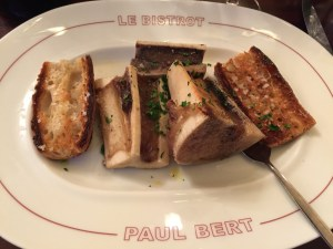 Bone marrow and toast