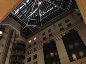 hotel lobby atrium