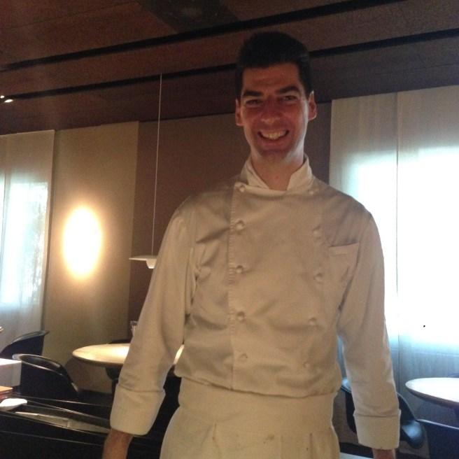 Chef Maassimiliano Alajmo