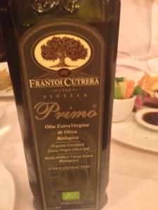 olive oil for garnishing