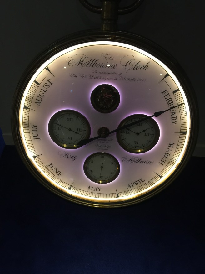 clock in the room