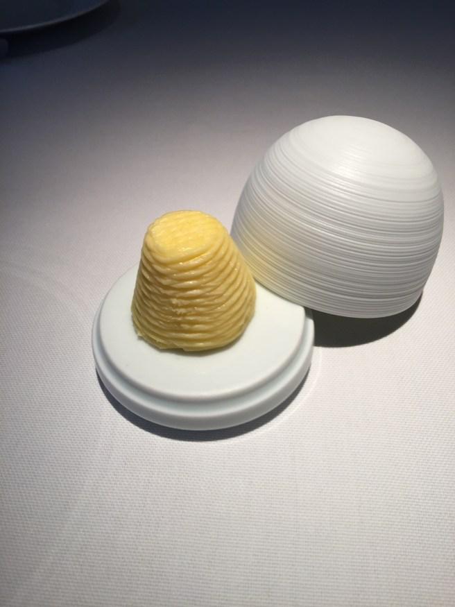 Salted butter presentation