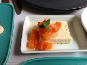 Beer cheese with carrot relish