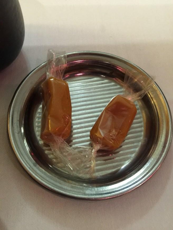 orange caramels