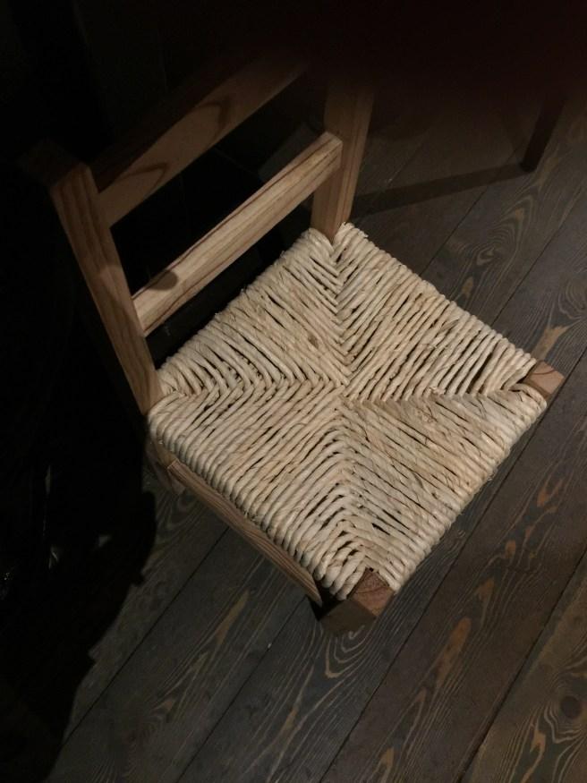 """purse stool"""