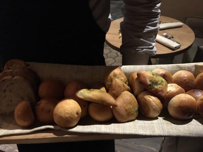 bread tray - all house made