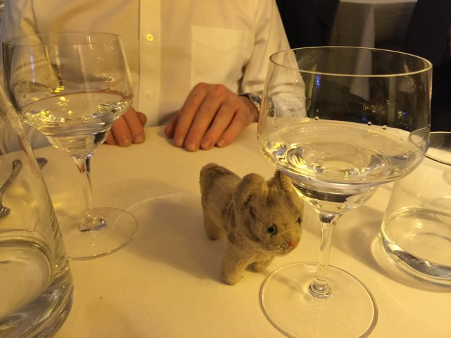 Frankie couldn't reach the grappa