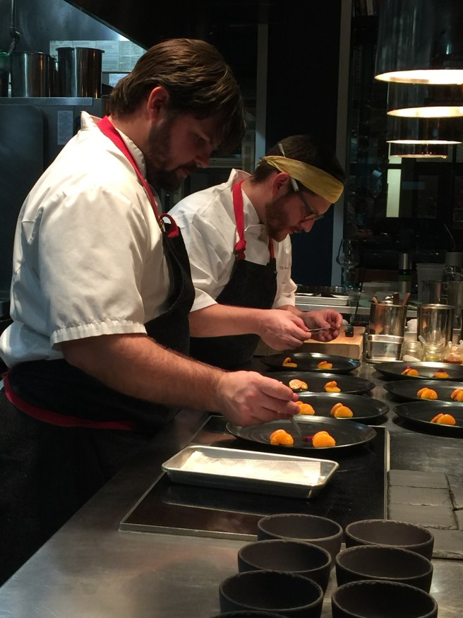 Chefs Jason Byo and Brad Henley work well together