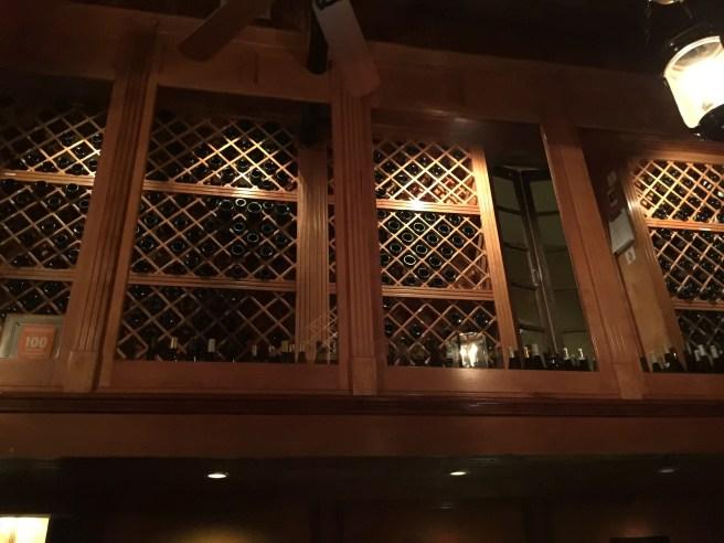 wine cellar above us