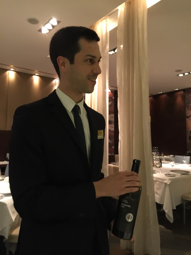 Juao, another fine waiter