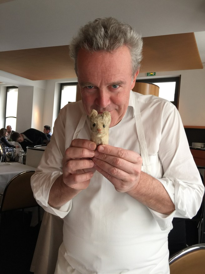 Chef with Frankie