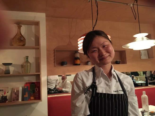 sweetest chef and waiter Chiho Kanzaki