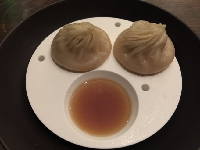 Lobster coral xiao long bao