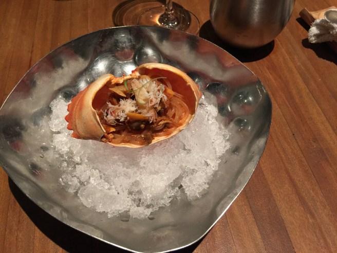 Sacha soba: Sachapapa soba, vongoles, crab