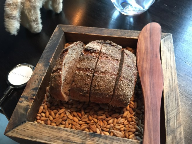 Sour dough bread with rye and smelt