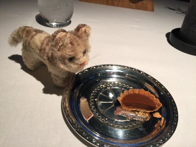Frankie thougt the tart was yummy
