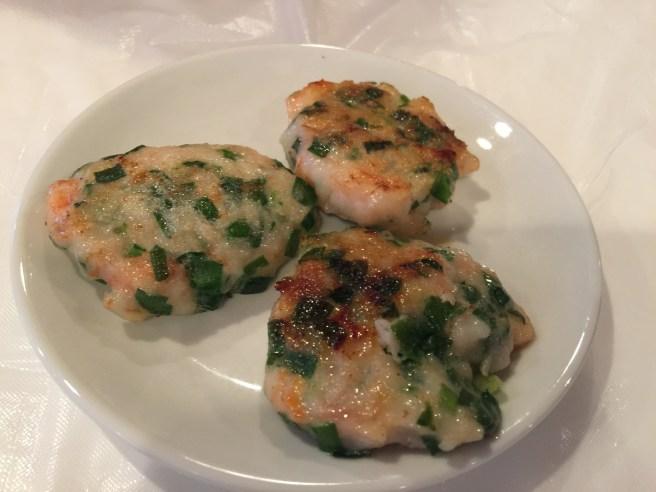 shrimp patties