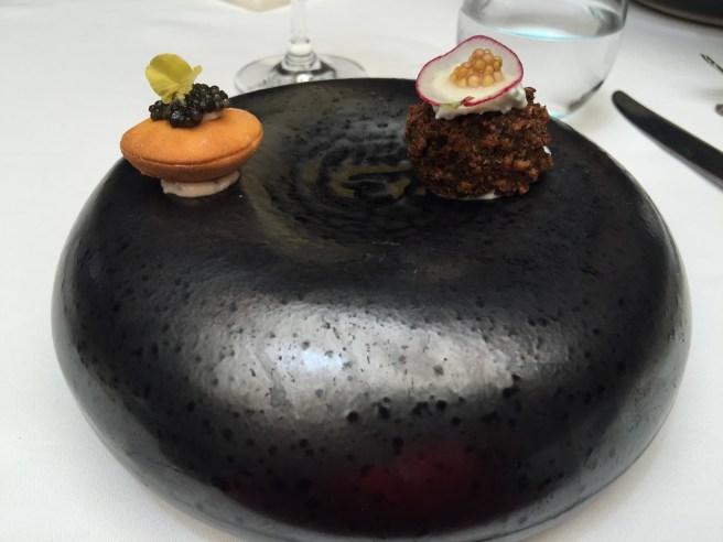 interesting presentation dish