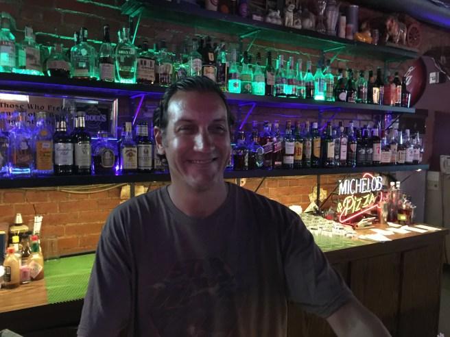 Casey, great bartender