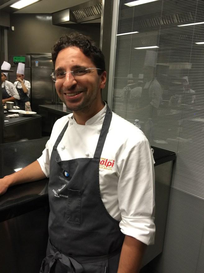 Claudio Catino, Chef de Cuisine
