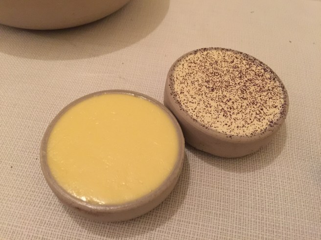 salted and seaweed butters