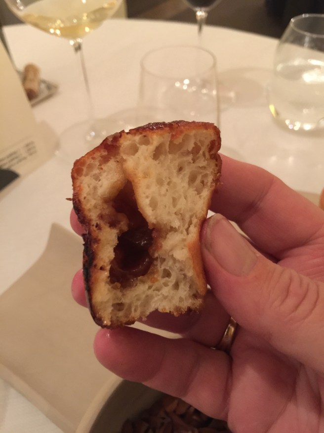 inside the bread