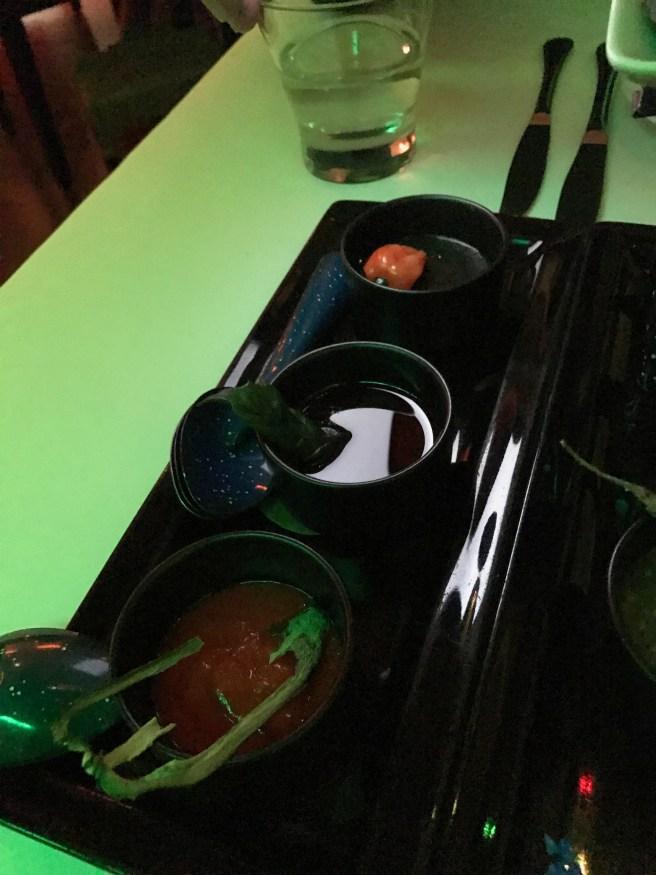 various sauces