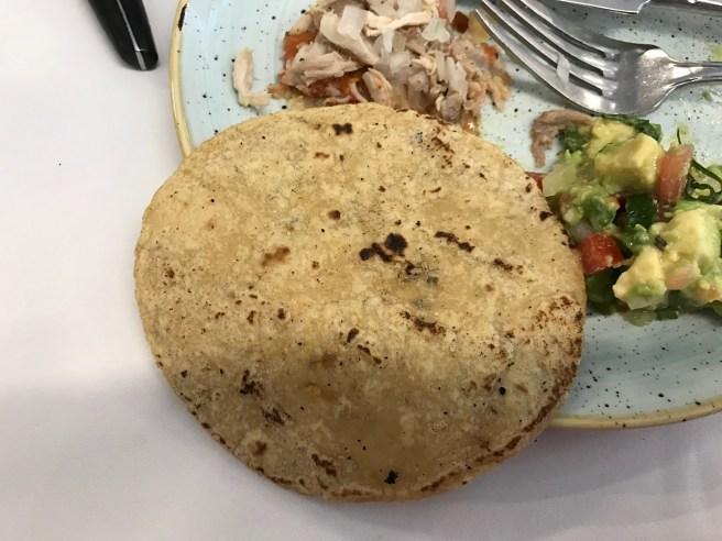 fresh, warm tortillas