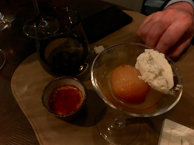 creme brulee and baba au rhum