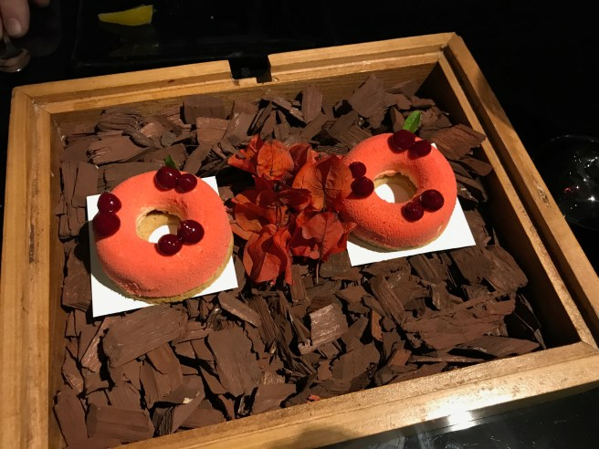 Cheesecake donuts