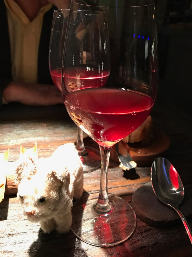 Frankie's not sure about unfiltered wines