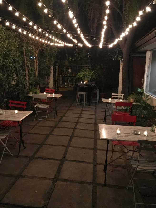 side patio