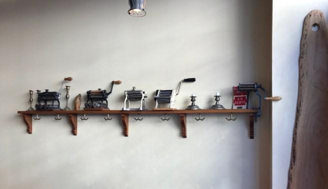 display of pasta makers