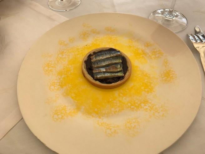 Creative: Sardine tartlet