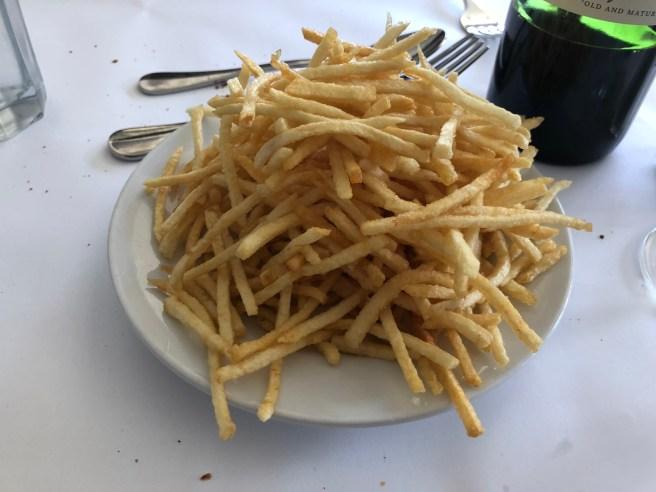 Shoestring potatoes (1/2 order)