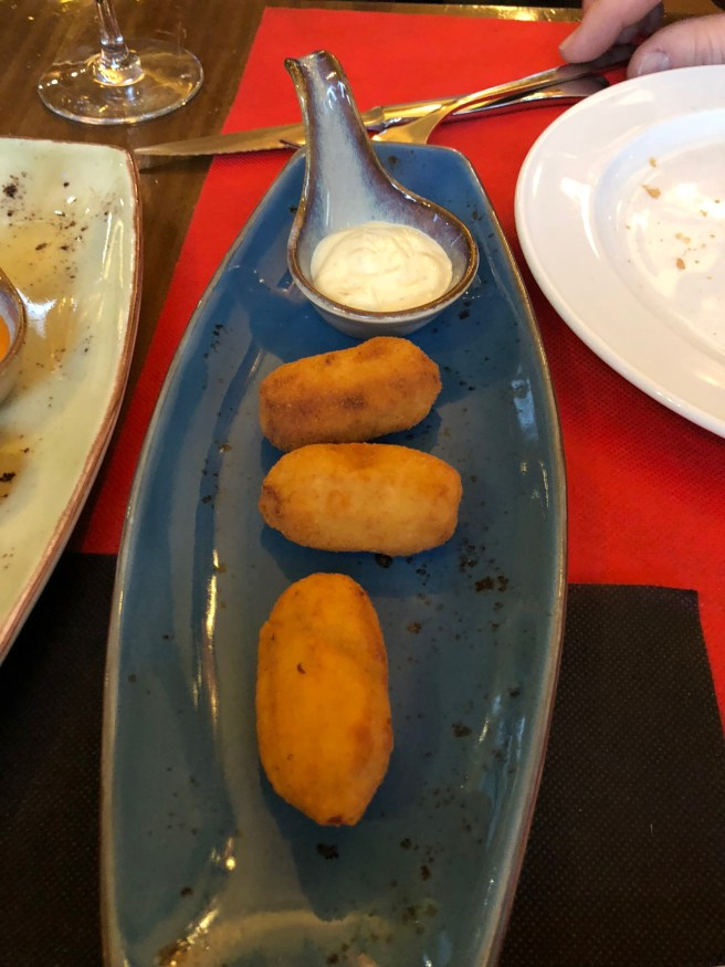 Asturias blue cheese croquetes