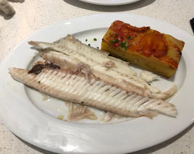 fish serving