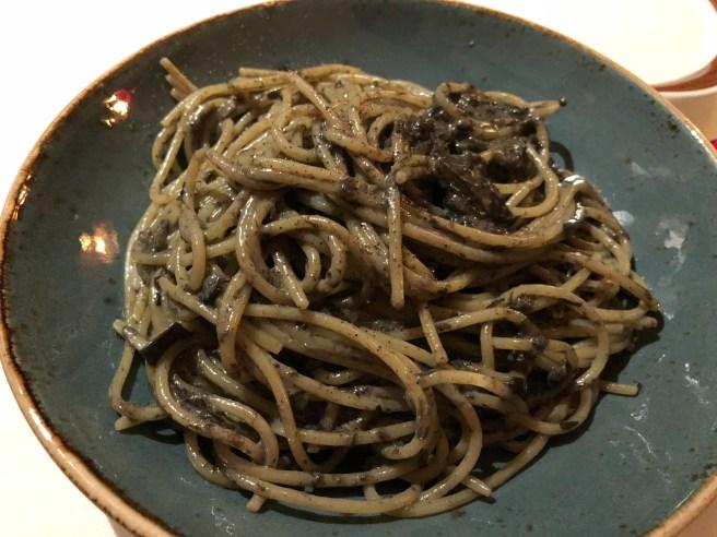 Spaghetti al carciofi