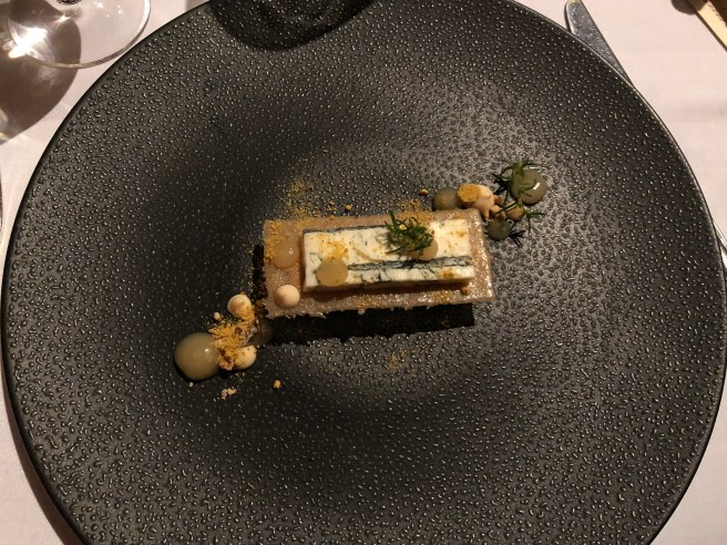 Gorgonzola Piccante with walnuts and caramel